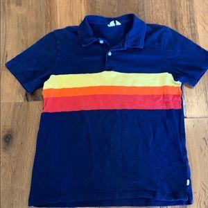 Gap Boy Retro Striped Polo